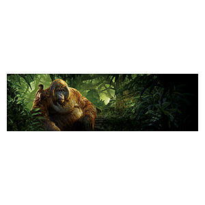 Jungle Book. Размер: 200 х 60 см